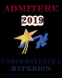 Admitere Universitatea Hyperion 2019